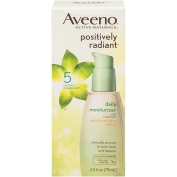 Aveeno Positively Radiant Daily Facial Moisturiser With Broad Spectrum Spf 30, 70ml