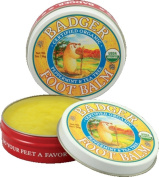 Badger Organic Peppermint and Tea Tree Foot Balm 21g