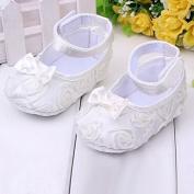 Sanwood Baby Girl Comfortable AntiSlip Princess Toddler Shoes