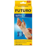 3M Health Care 45538ENT FUTURO Deluxe Wrist Stabiliser, Left Hand, Large/X-Large, Beige