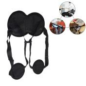 Back Posture Corrector, Bulary Back Posture Belt Adjustable Waist Back Brace Belt by Correcting Sitting Posture