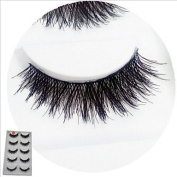 GAG-Eyelashes@5 Pairs Of Pure Manual 080 Cotton Thick Exaggerated False Eyelash Cross Clutter