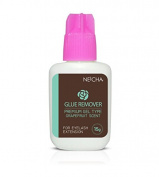 Neicha Eyelash Extension Gel Type Glue Remover / Grapefruit Scent Remover - 15ml