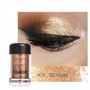 Pro Makeup Glitter Eyeshadow Shimmer Pigment Loose Powder Beauty Makeup Nude Eye Shadow Treasure