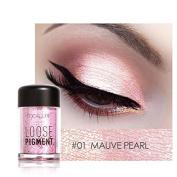 Pro Makeup Glitter Eyeshadow Shimmer Pigment Loose Powder Beauty Makeup Nude Eye Shadow Mauve Pearl