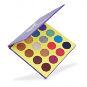 MISKOS 16 Colour Purple Package, Warm and Nude Smoky Eyeshadow Palette