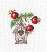 Nesting Box Counted Cross Stitch Kit-11cm x 11cm 14 Count