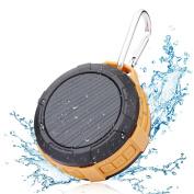 Bluetooth Speaker,Waterproof Shower Speaker,Hcman Super Portable Speaker with Micro SD Card Slot, Built-In Mic,Enhanced Bass, works with iPhone, iPad, Samsung, Nexus, HTC, Laptops