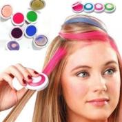 4 pieces Hot Huez Non-toxic Temporary Hair Chalk Dye Soft Pastels Salon Kit