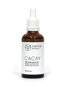 Native Botanics Cacay Oil – 100% Natural, Certified Organic, Pure & Cold Pressed Cacay Oil. The Best Possible Anti Ageing & Anti Wrinkles Oil for Face. Deeply Nourishes & Hydrates Skin, Hair & Nails. Rich in Retinol, Vitamin E & Linoeic Acid – 50ml - M ..