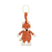 Jellycat Cordy Roy Baby Fox Jitter Stroller Toy, 18cm