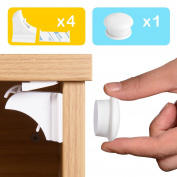 Baby Safety Magnetic Cabinet Locks,Webeauty Magnetic cupboard locks for Child Proofing Your Cabinets and Drawers