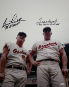 Boog Powell/Frank Howard Autographed 16x20 Photo with Inscriptions- W Authen - JSA Certified - Autographed MLB Photos