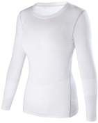 Women's Dry Fit Athletic Compression Long Sleeve T Shirt #2019