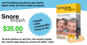 Snore StoppA- Get a better nights sleep! - Tried and Tested