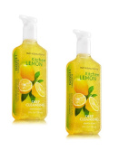 Bath and Body Works Deep Cleansing Hand Soap, Kitchen Lemon, Lot of 2