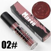Exteren 12 Colours Waterproof Matte Makeup Lip Gloss Long Lasting Natural Lipstick Sand Pigment