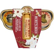 Burt's Bees Classic Bee Tin Holiday Gift Set 3 Products in Box