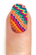 Karmaloop ncLA The Ray & The Ro Nail Wrap Multi