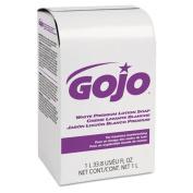 GOJ2104 - White Premium Lotion Soap, Spring Rain Scent, Nxt 1000 Ml Refill