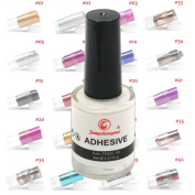 Ships From CA, USA Professional Galaxy Star Nail Art Glue for Foil Sticker Nail Transfer Tips Adhesive White 8ml