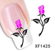1 Set Beauty Popular Hots Nail Art Stickers 3D Manicure Full Designs Decorations Style CodeXF1425