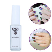 Perfect Summer Professional 10ml Artificial Liquid Glue for Nail Foils Stickers and Decals Nail Transfer Tips Manicure Tools Adhesive White