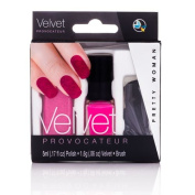 Pretty Woman Velvet Provacatuer Kits Nail Decorations & Decals - Pink Velvet Provacatuer Kit