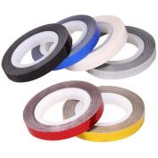 BMC 6pc Assorted Colour Zig Zag Line Chevron Striping DIY Nail Art Tape Bundle