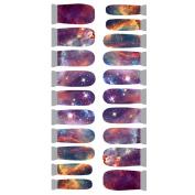 Winstonia Designer Nail Wrap - Star Gazing