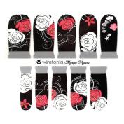Winstonia Designer Nail Wrap Strips - Midnight Mystery