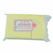 111gram/bag Solid Durable Lint-Free Wipes 100% Cotton Nail Tools Bath Manicure Gel Nail Polish Remover Yellow