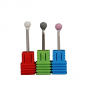 Vinjeely Quartz Nail File Drill Bit Tools For Nail Art Machine Grinding Stone Head