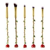 Professional Makeup Brush Set Makeup Brushes for Facial and Brow & Lip Makeup by TOPUNDER R