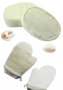 4Pcs Loofah Shower Accessories