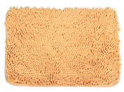 JustNile Easy to Clean Super Soft & Luxurious Microfiber Spa Shower/Bathroom Mat; Super Absorbent Rug, Quick Drying & Hygienic Floor Accent for Kitchen, Foyer & Washroom, Comfortable for Feet & Pets