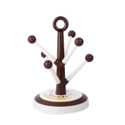 Uminilife Cup Holder Mug Tree Storage Rack Cup Hanger Drying Rack Kitchen Organiser Rack Stand
