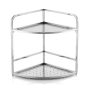 Ahui Spice Jar Condiments Canned Food Racks Shelf Storage 2 Tier 304 Stainless Steel Cutlery Racks Cooking and Dining