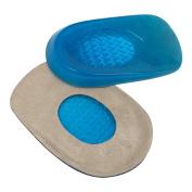 WJkuku Gel Heel Cups Cushions Foot Support for Bone Spurs Achilles Tendonitis Pain Relief