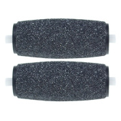 2Pcs Replacement Roller Heads for Smooth Foot Grinder Pedicure Skin Remover