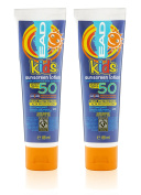EAD Kids Sunscreen SPF 50 Lotion, Water Resistant Travel Size, 88 ml - Pack of 2