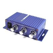 ZHUOTOP 400W 12V HI-FI Stereo audio power Amplifier mp3 deluxe auto sound enlarger