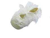 Cinda Baby Girls Lace Flower Shoes