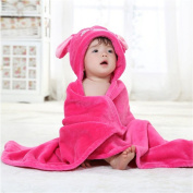ZYZF Baby Adorable Constellation Collection Flannel Hoodies Robe Towel Blanket