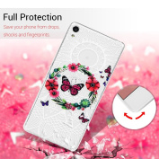 Sony Xperia XA Case, Sony Xperia XA TPU Case, Kasos Clear Soft TPU Case Silicone Gel Cover Lightweight [Drop Protection] [Perfect Fit] Flexible Anti-Scratch Protective Case for Sony Xperia XA