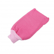 LissomPlume Exfoliating Bath Mitt Unisex Body Rubbing Gloves Scrub Shower Towel
