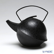 YOnoBI you Nov tetsubin teapot Kabuto 2 013 ebony 0.6 L