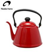Noda enamel drip coffee kettle 2.0L red DK-200 JAN