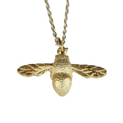 Nikita By Niki ® Dainty Bumble Bee Pendant Necklace