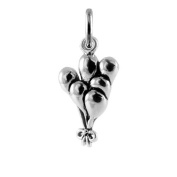 TheCharmWorks Sterling Silver Balloons Charm